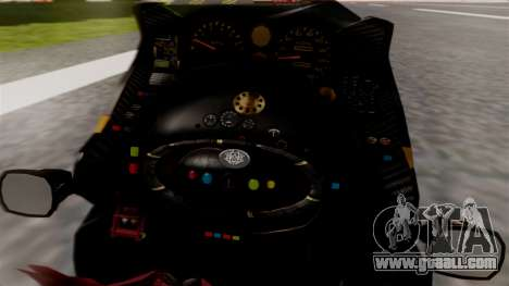 NRG Moto Jet Buzz Dirt Model for GTA San Andreas back left view