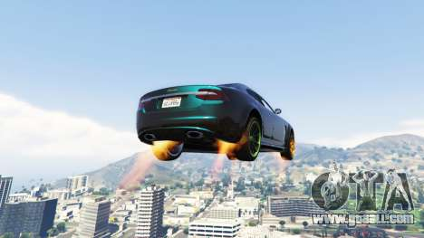 GTA 5 Vehicles Jetpack v1.2.2 second screenshot