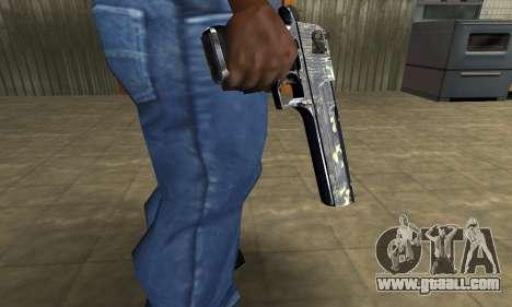 Flacon Deagle for GTA San Andreas