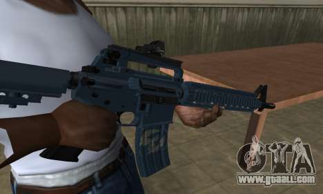 Counter Strike M4 for GTA San Andreas second screenshot