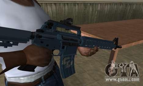 Counter Strike M4 for GTA San Andreas second screenshot