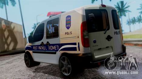 Fiat Doblo PPX for GTA San Andreas left view