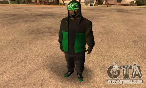 Fam Black for GTA San Andreas