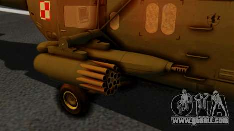PZL W-3PL Grouse for GTA San Andreas right view