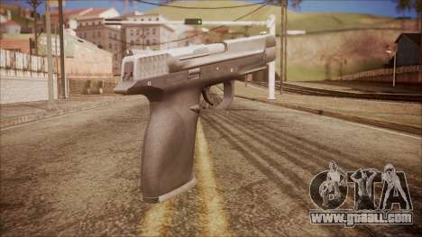 SW40p from Battlefield Hardline for GTA San Andreas second screenshot