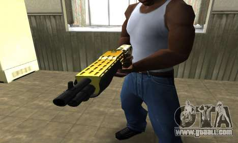 Wonder Combat Shotgun for GTA San Andreas second screenshot