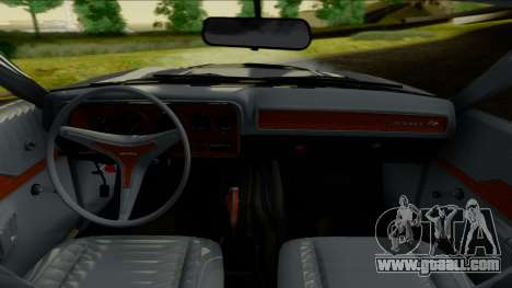 Dodge Charger Super Bee 426 Hemi (WS23) 1971 IVF for GTA San Andreas back view