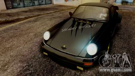 Porsche 911 Turbo (930) 1985 Kit A PJ for GTA San Andreas side view