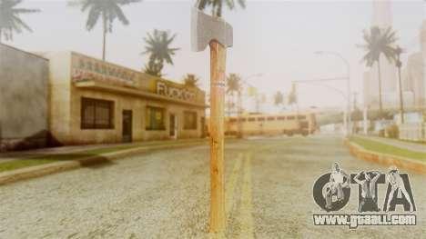 GTA 5 Hatchet v1 for GTA San Andreas