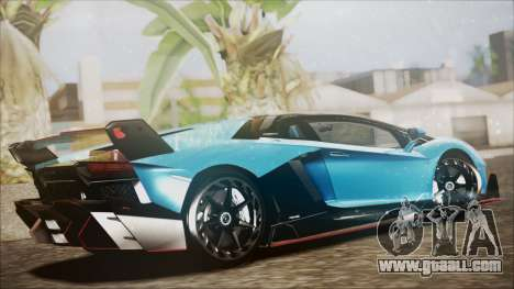 Lamborghini Veneno LP700-4 AVSM for GTA San Andreas left view