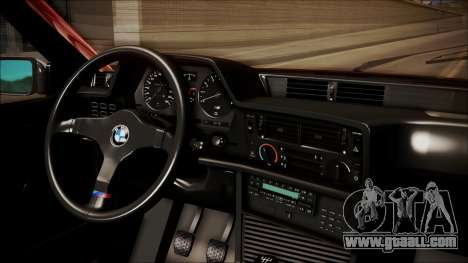 BMW E24 Shakugan No Shana Itasha for GTA San Andreas right view