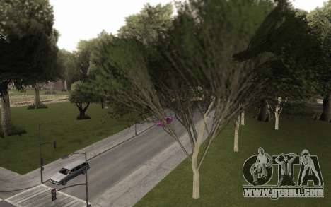 A copy of the original trees for GTA San Andreas second screenshot