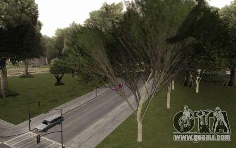 A copy of the original trees for GTA San Andreas second screenshot