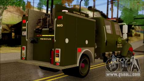 SANG Combat Rescue International for GTA San Andreas left view