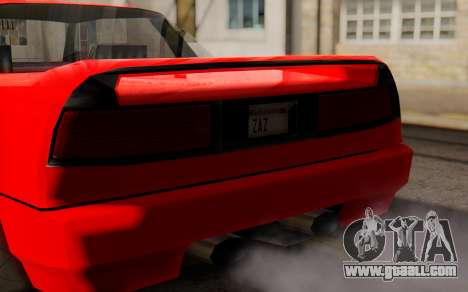 Infernus Hamann Edition New Wheels for GTA San Andreas right view