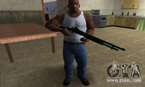 Green Guy Shotgun for GTA San Andreas third screenshot