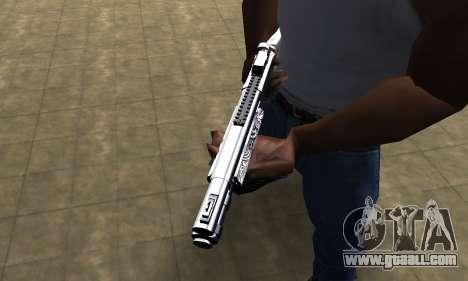 Black Shotgun for GTA San Andreas second screenshot