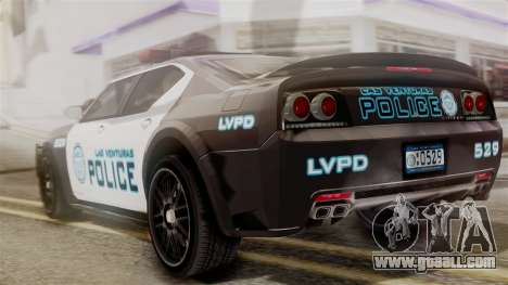Hunter Citizen from Burnout Paradise Police LV for GTA San Andreas left view