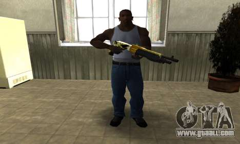 Wonder Combat Shotgun for GTA San Andreas third screenshot