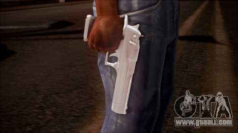Desert Eagle from Battlefield Hardline for GTA San Andreas third screenshot