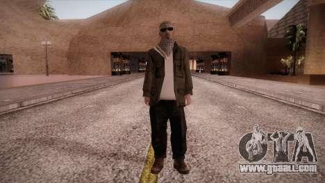 Terrorist for GTA San Andreas second screenshot