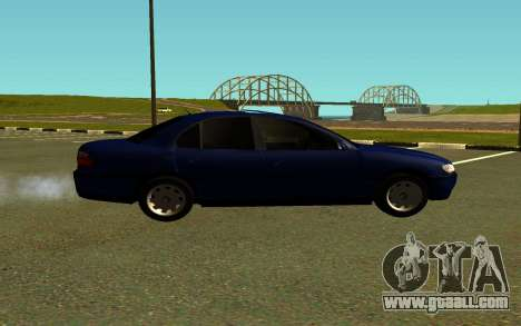 Opel Omega B for GTA San Andreas left view