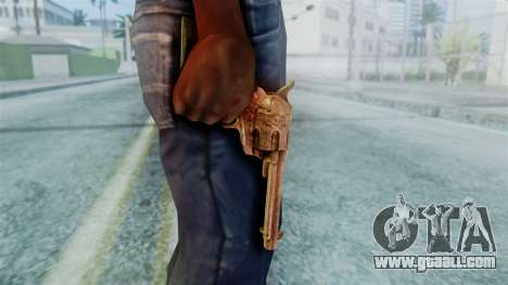 Red Dead Redemption Revolver Diego Nueva for GTA San Andreas third screenshot