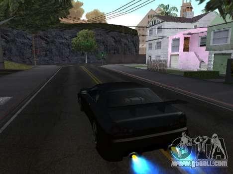 New sound of nitro for GTA San Andreas
