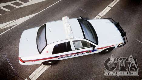 Ford Crown Victoria Bohan Police [ELS] for GTA 4 right view
