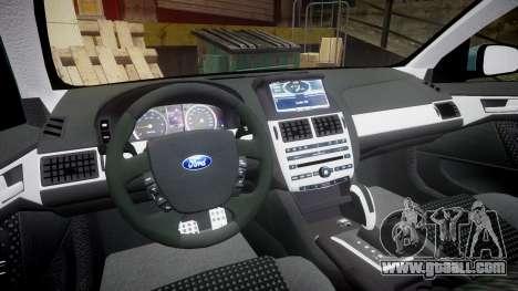 Ford Falcon FG XR6 Turbo for GTA 4 back view