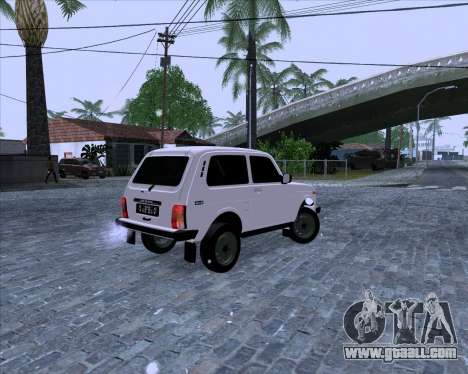 VAZ 2121 Niva 4x4 for GTA San Andreas left view