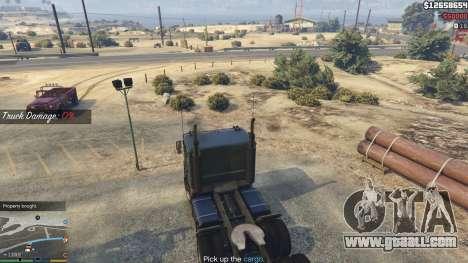 GTA 5 Trucking Missions 1.5 ninth screenshot