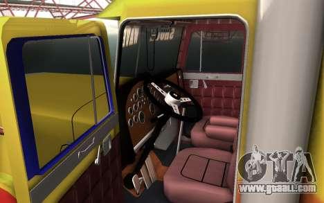ShockWave Jet Truck for GTA San Andreas back left view