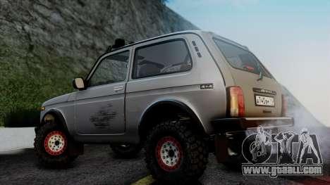 VAZ 2121 Niva 4x4 for GTA San Andreas back left view
