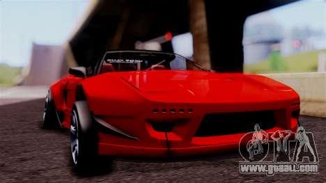 Honda NSX for GTA San Andreas back view
