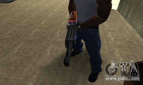 Fish Power Combat Shotgun for GTA San Andreas second screenshot