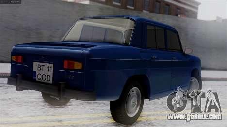 Dacia 1100 for GTA San Andreas left view
