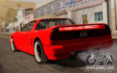 Infernus Hamann Edition New Wheels for GTA San Andreas left view