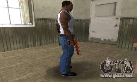 Death Red Deagle for GTA San Andreas