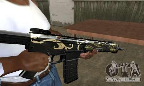 Kaymay M4 for GTA San Andreas second screenshot