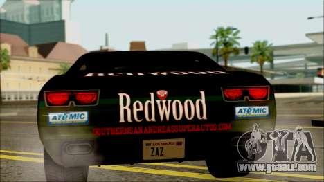 GTA 5 Bravado Gauntlet Redwood HQLM for GTA San Andreas right view