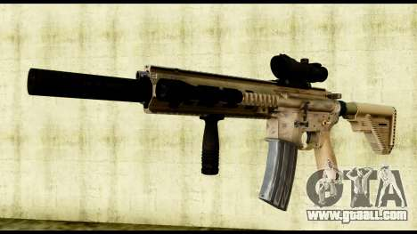 HK416 SOPMOD for GTA San Andreas