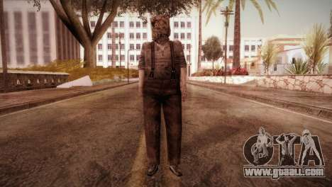 RE4 Dr. Salvador from Mercenaries for GTA San Andreas second screenshot