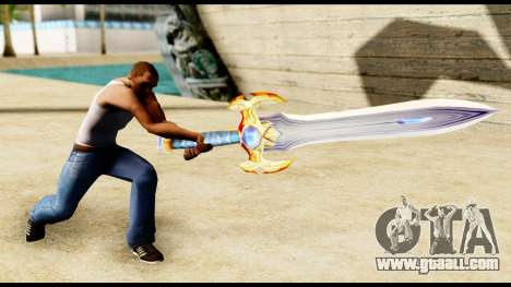 Sword paladin for GTA San Andreas third screenshot