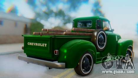 Chevrolet 3100 1951 Work for GTA San Andreas left view
