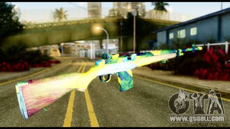 Brasileiro Rifle for GTA San Andreas second screenshot