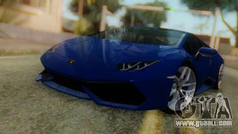 Lamborghini Huracan 2015 for GTA San Andreas
