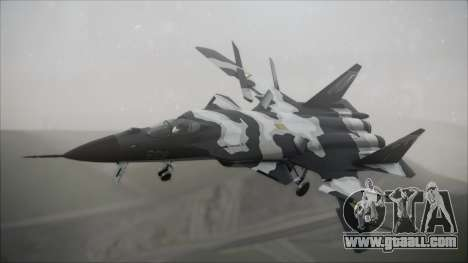 SU-47 Berkut Grabacr Ace Combat 5 for GTA San Andreas