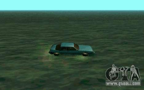 Cars Water for GTA San Andreas second screenshot