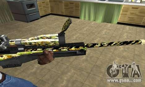 Cub Sniper Rifle for GTA San Andreas second screenshot